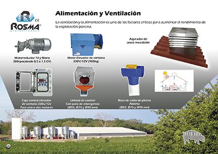 Catalogo Rosma prefabricado alimentacion ventilacion
