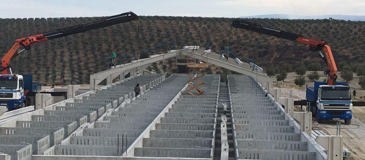Rosma prefabricados 2500 plazas en Granada
